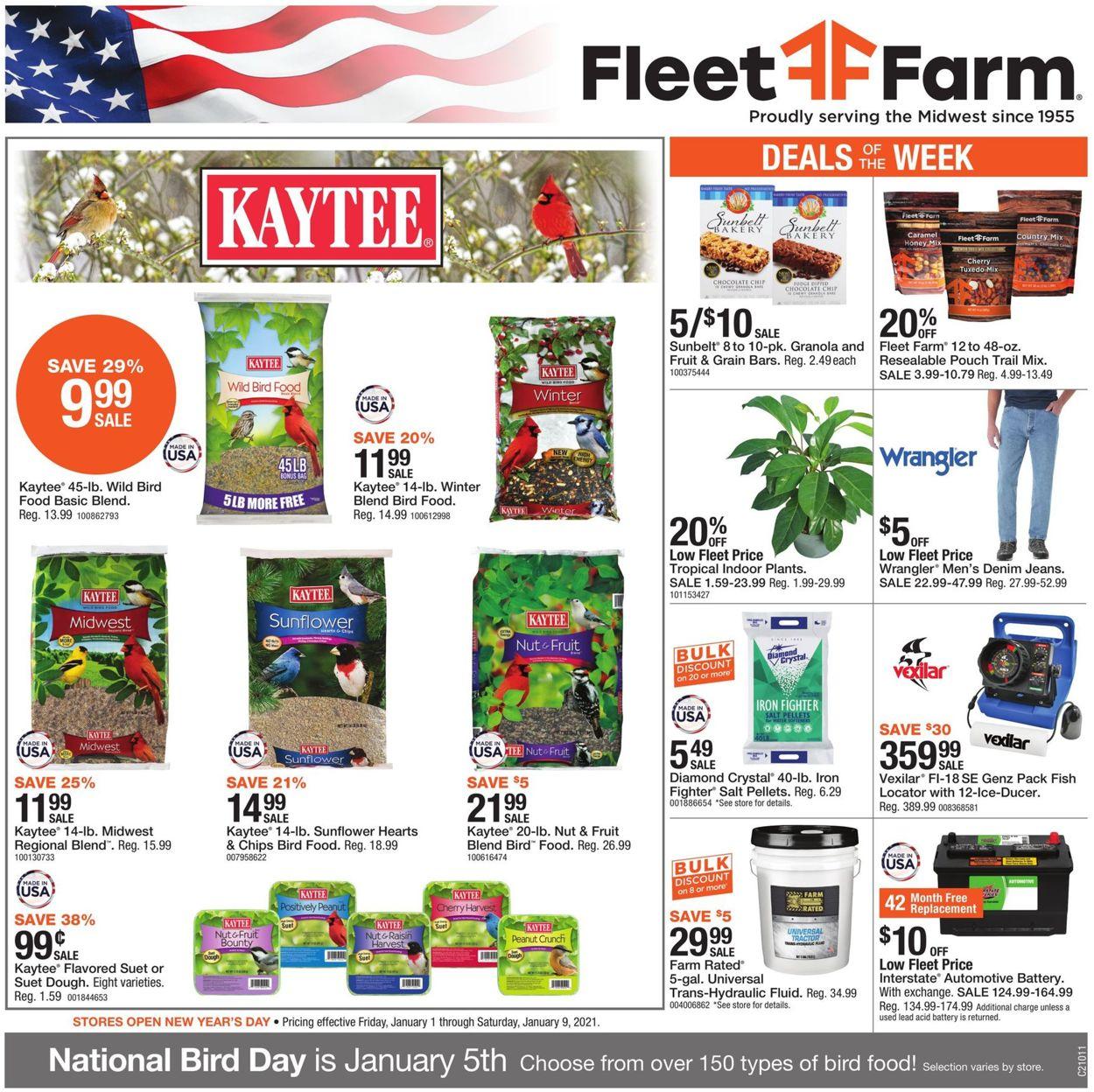 Mills Fleet Farm Weekly Ad Circular - valid 01/01-01/09/2021