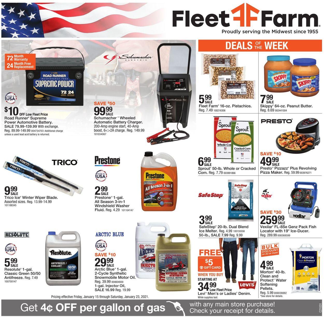Mills Fleet Farm Weekly Ad Circular - valid 01/15-01/23/2021
