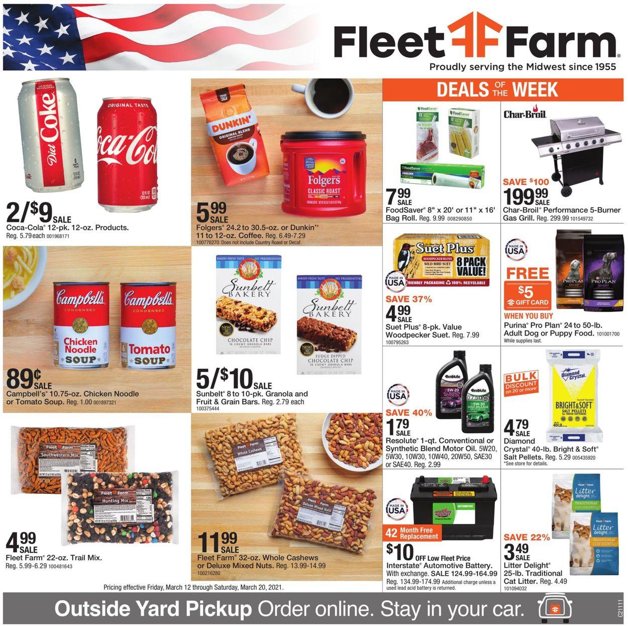 Mills Fleet Farm Weekly Ad Circular - valid 03/12-03/20/2021