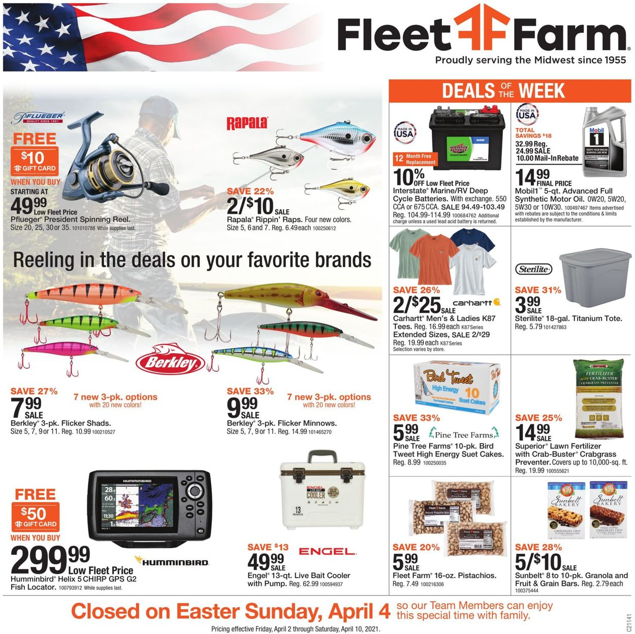 Mills Fleet Farm - Easter 2021 Ad Weekly Ad Circular - valid 04/02-04/10/2021