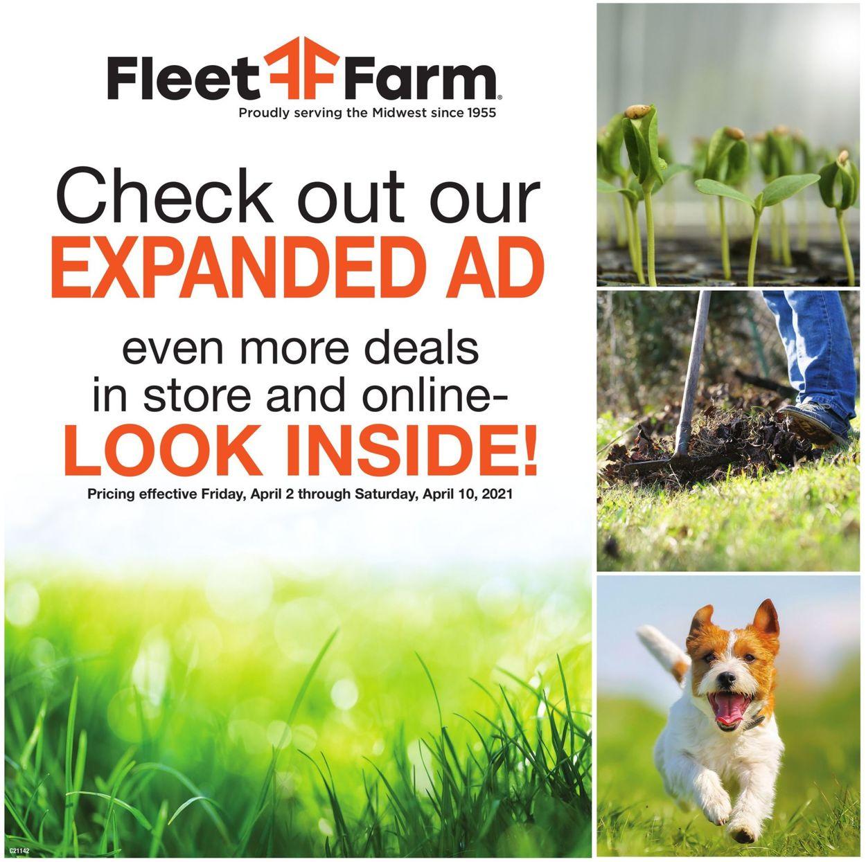 Mills Fleet Farm Weekly Ad Circular - valid 04/02-04/10/2021