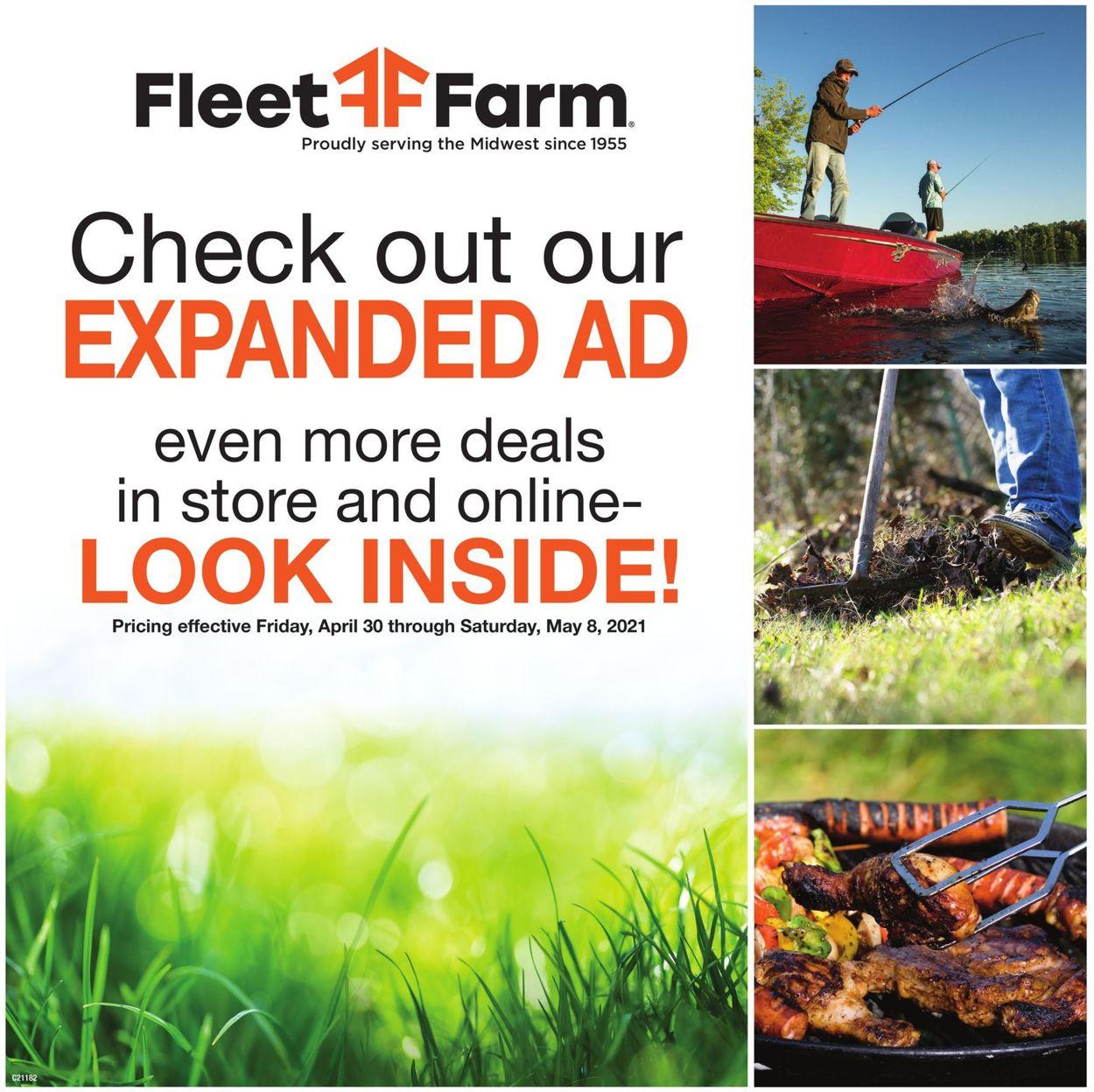 Mills Fleet Farm Weekly Ad Circular - valid 04/30-05/08/2021