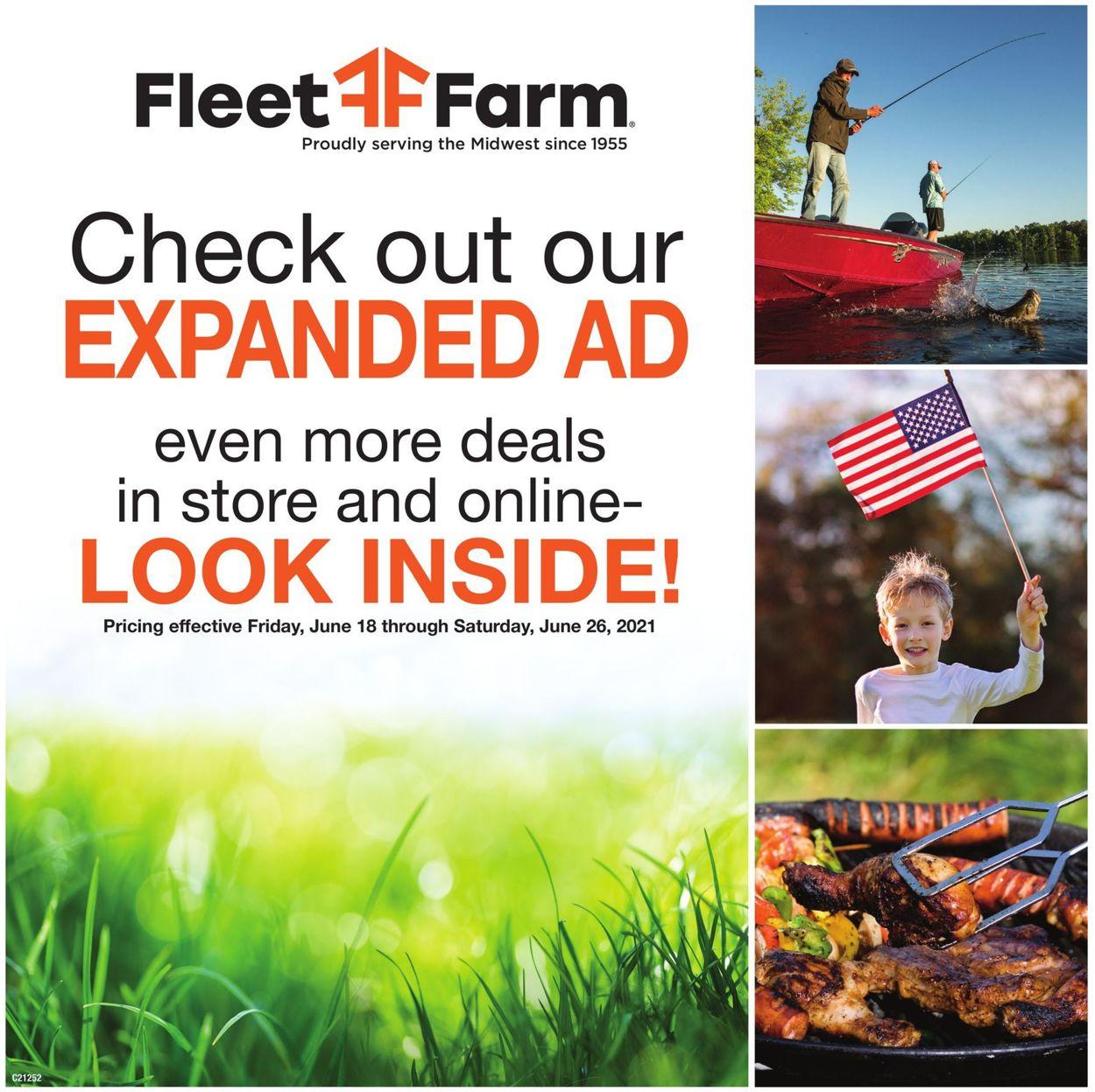 Mills Fleet Farm Weekly Ad Circular - valid 06/18-06/26/2021