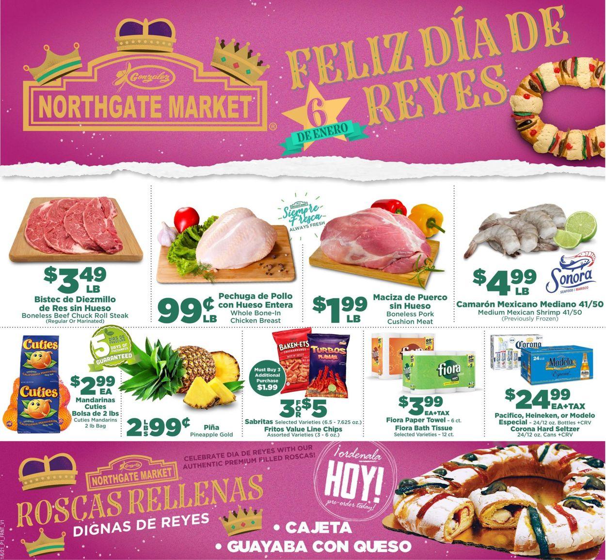 Northgate Market Weekly Ad Circular - valid 01/06-01/12/2021