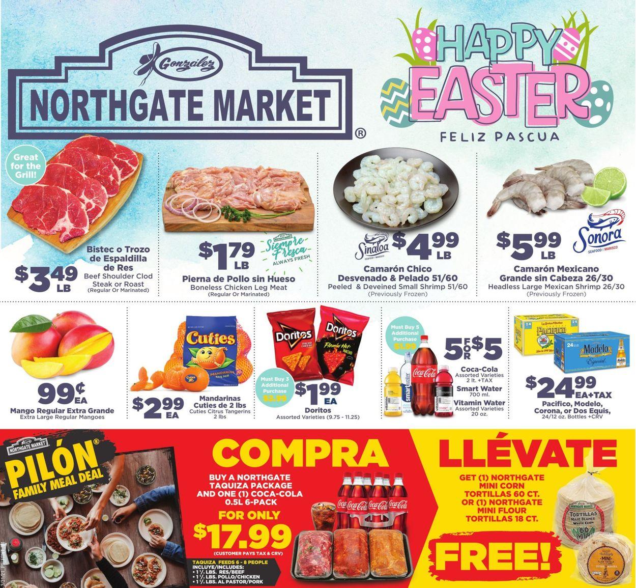 Northgate Market Easter 2021 Weekly Ad Circular - valid 03/31-04/06/2021