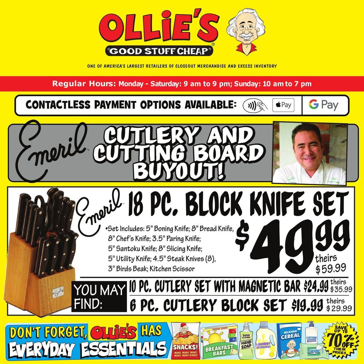 Ollie's Weekly Ad Circular - valid 01/29-02/03/2021
