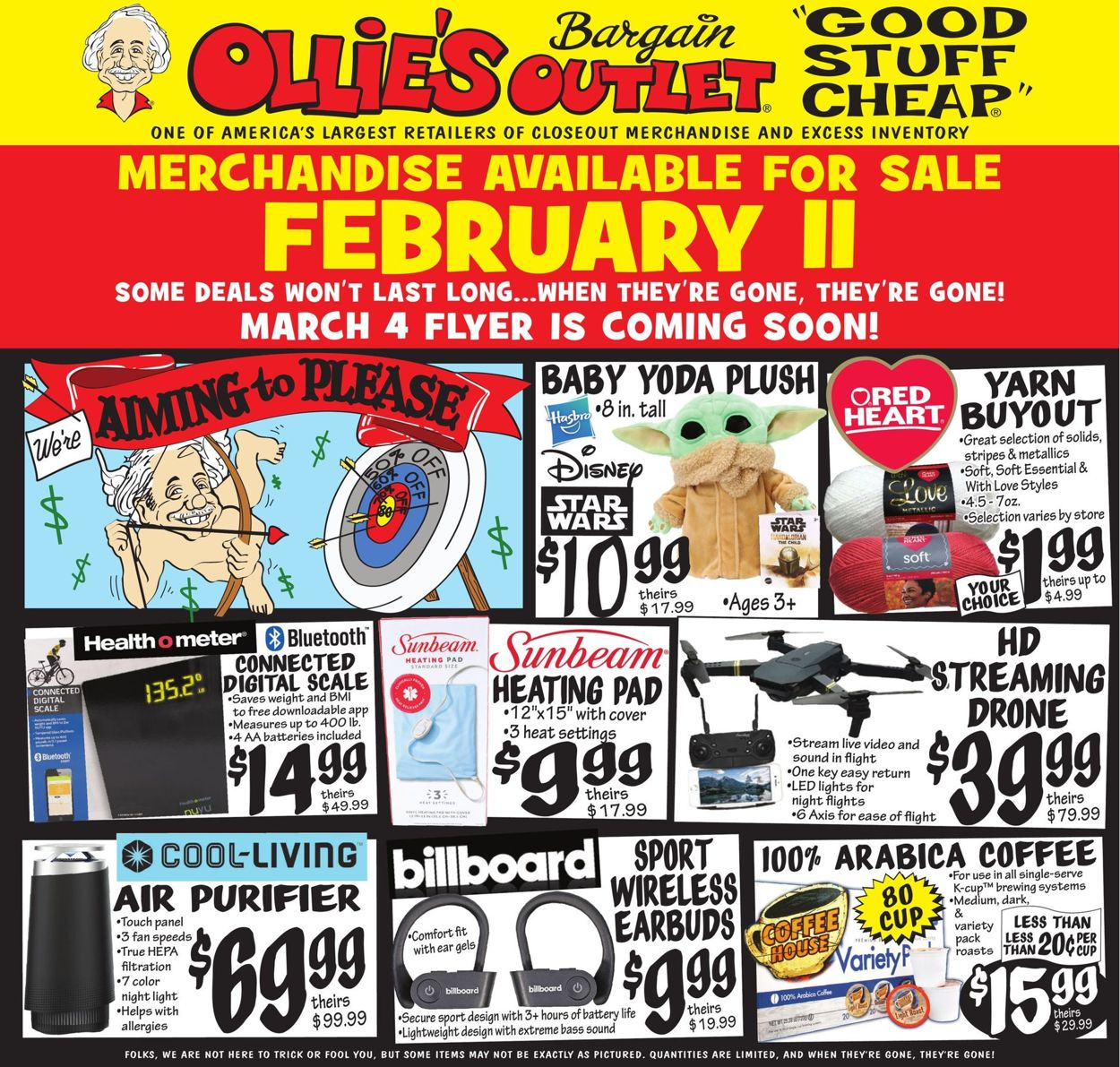 Ollie's Weekly Ad Circular - valid 02/11-02/17/2021