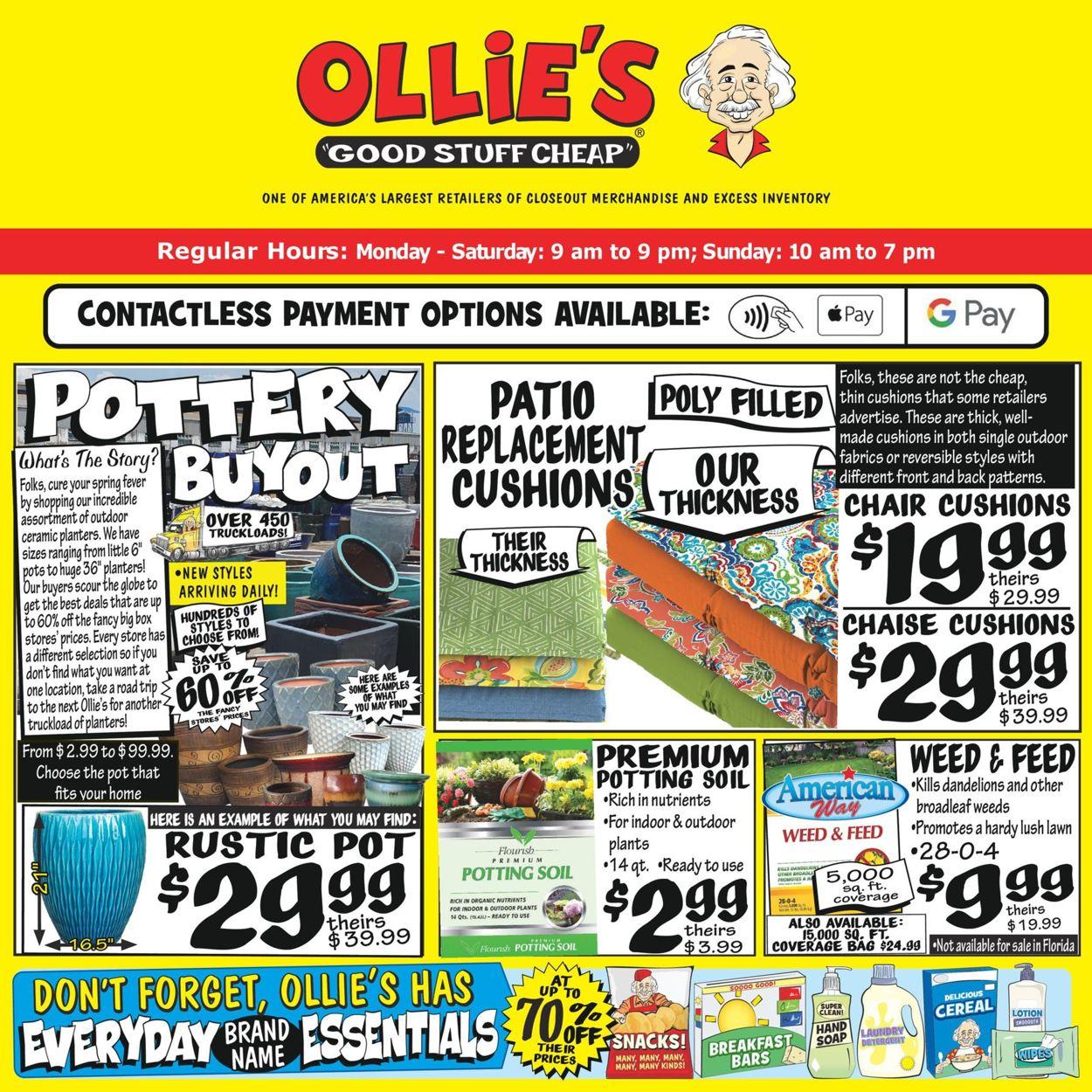 Ollie's Weekly Ad Circular - valid 02/25-03/03/2021