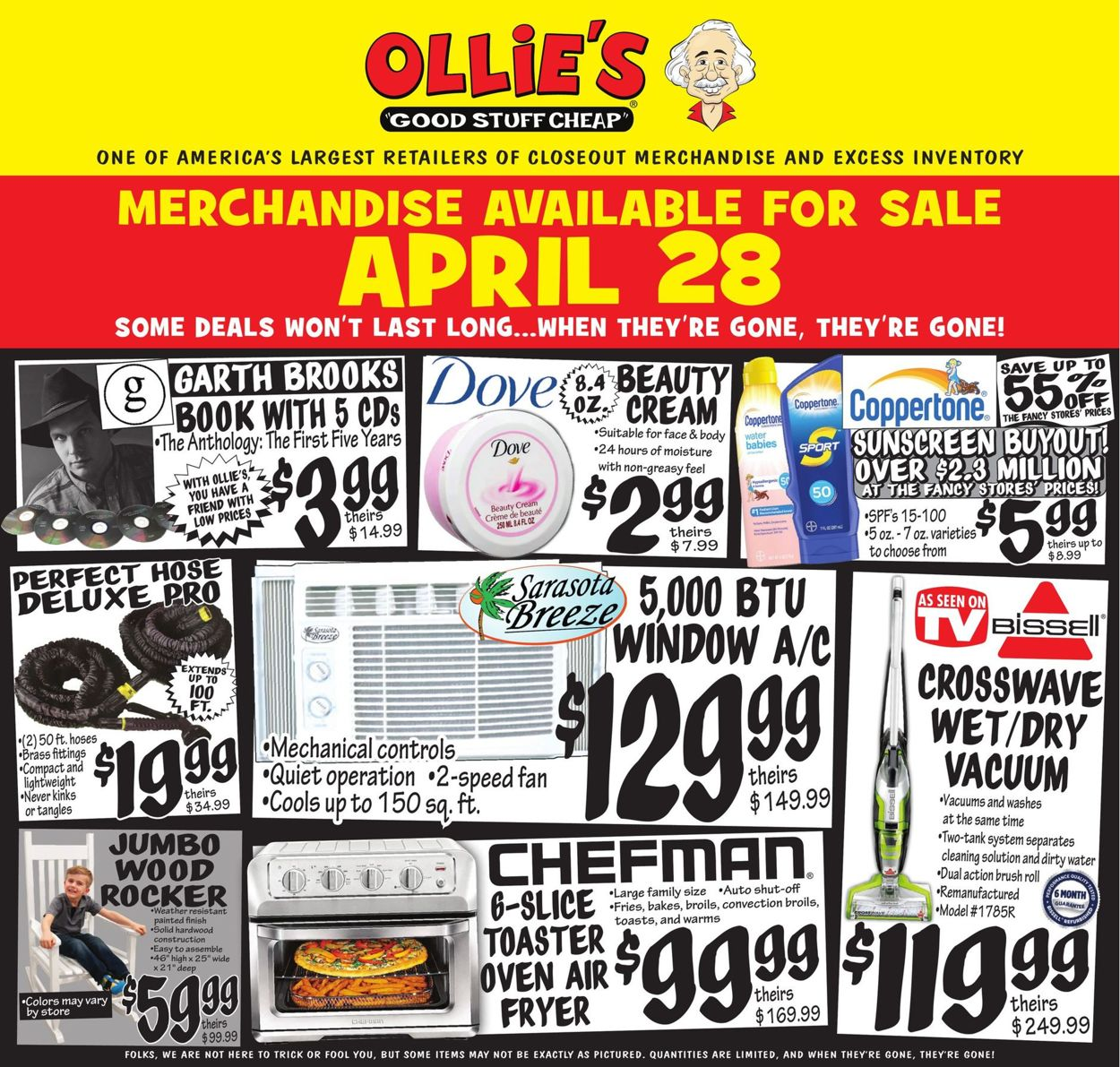 Ollie's Weekly Ad Circular - valid 04/28-05/05/2021
