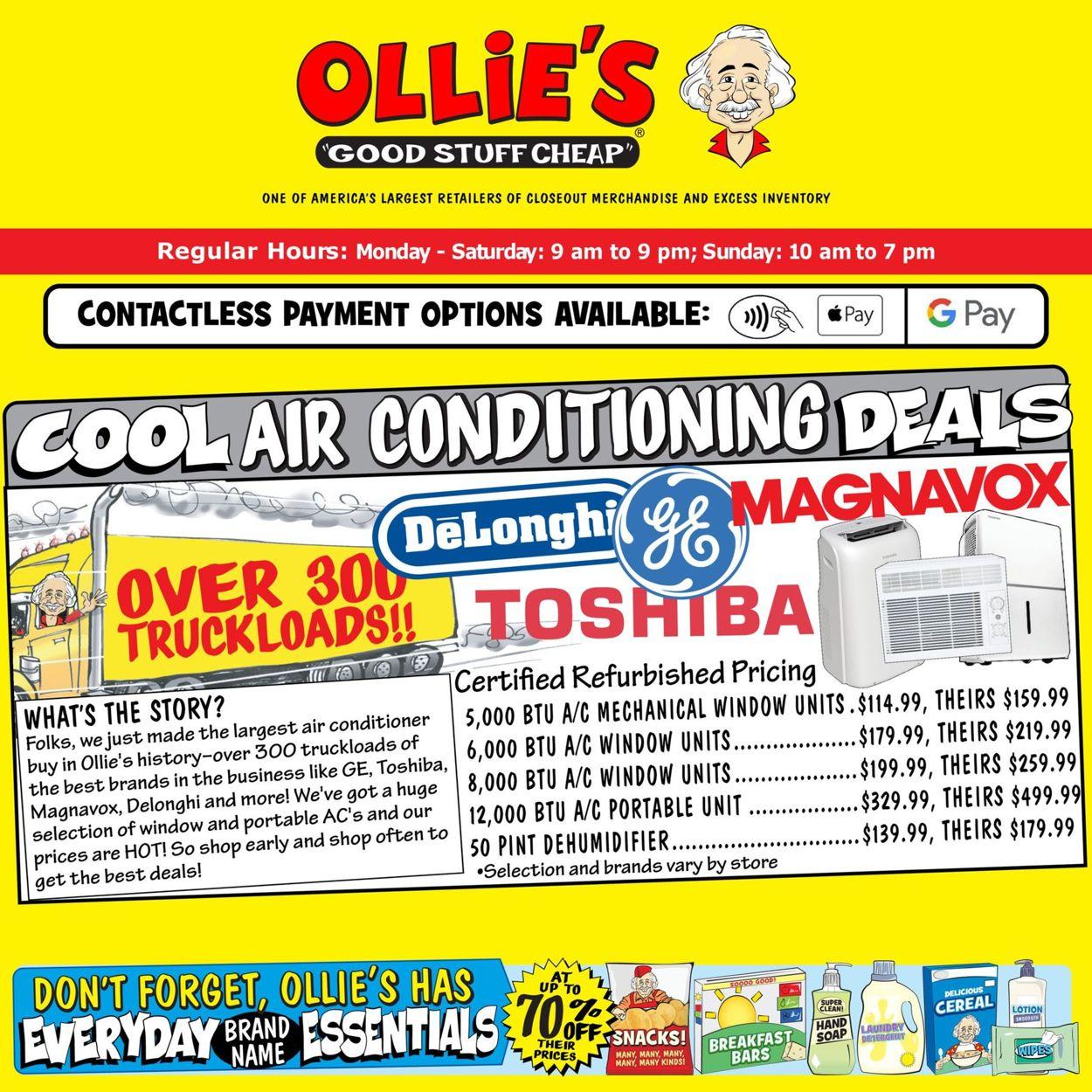 Ollie's Weekly Ad Circular - valid 05/20-05/26/2021