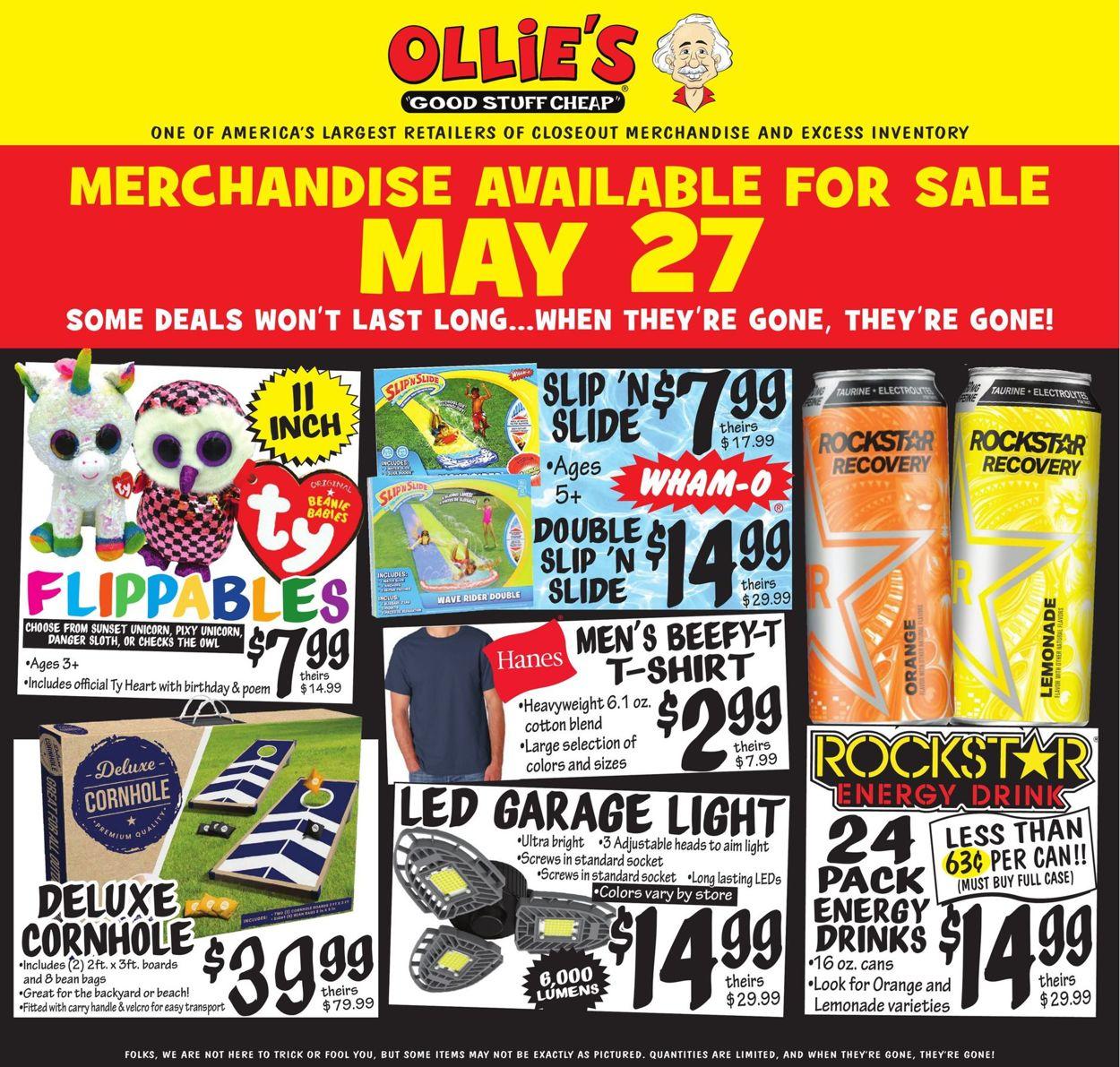 Ollie's Weekly Ad Circular - valid 05/27-06/02/2021