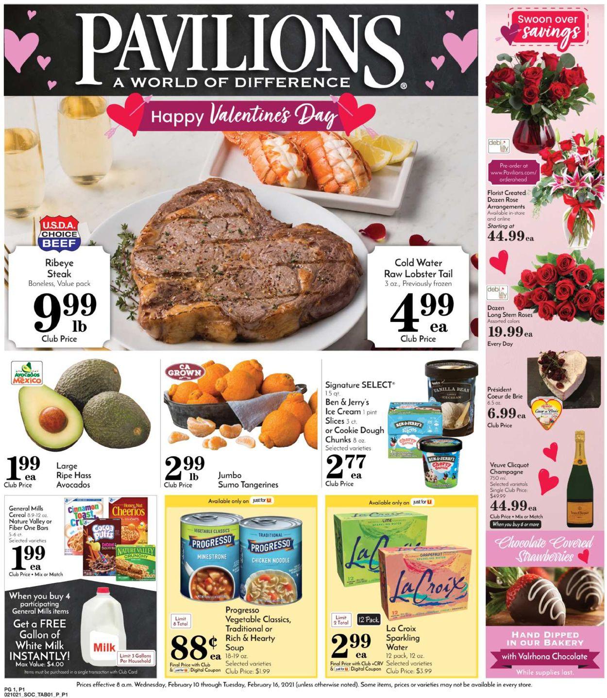 Pavilions Weekly Ad Circular - valid 02/10-02/16/2021