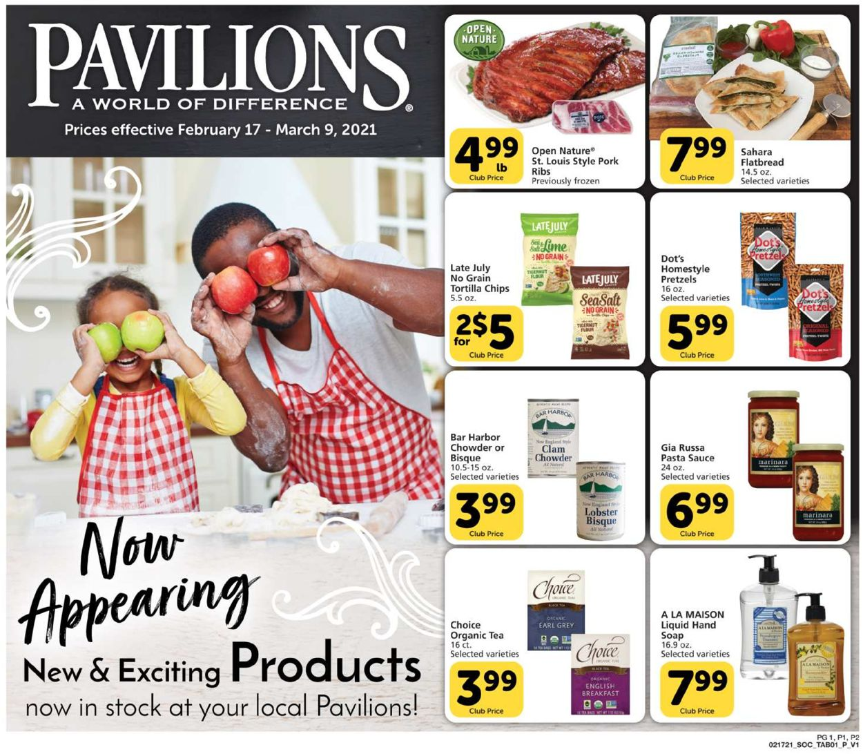 Pavilions Weekly Ad Circular - valid 02/17-03/09/2021