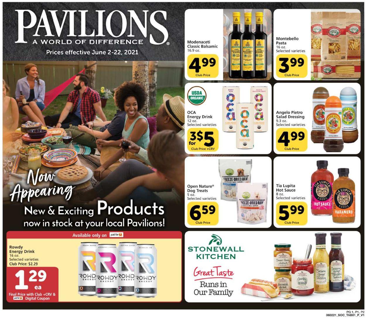 Pavilions Weekly Ad Circular - valid 06/02-06/22/2021