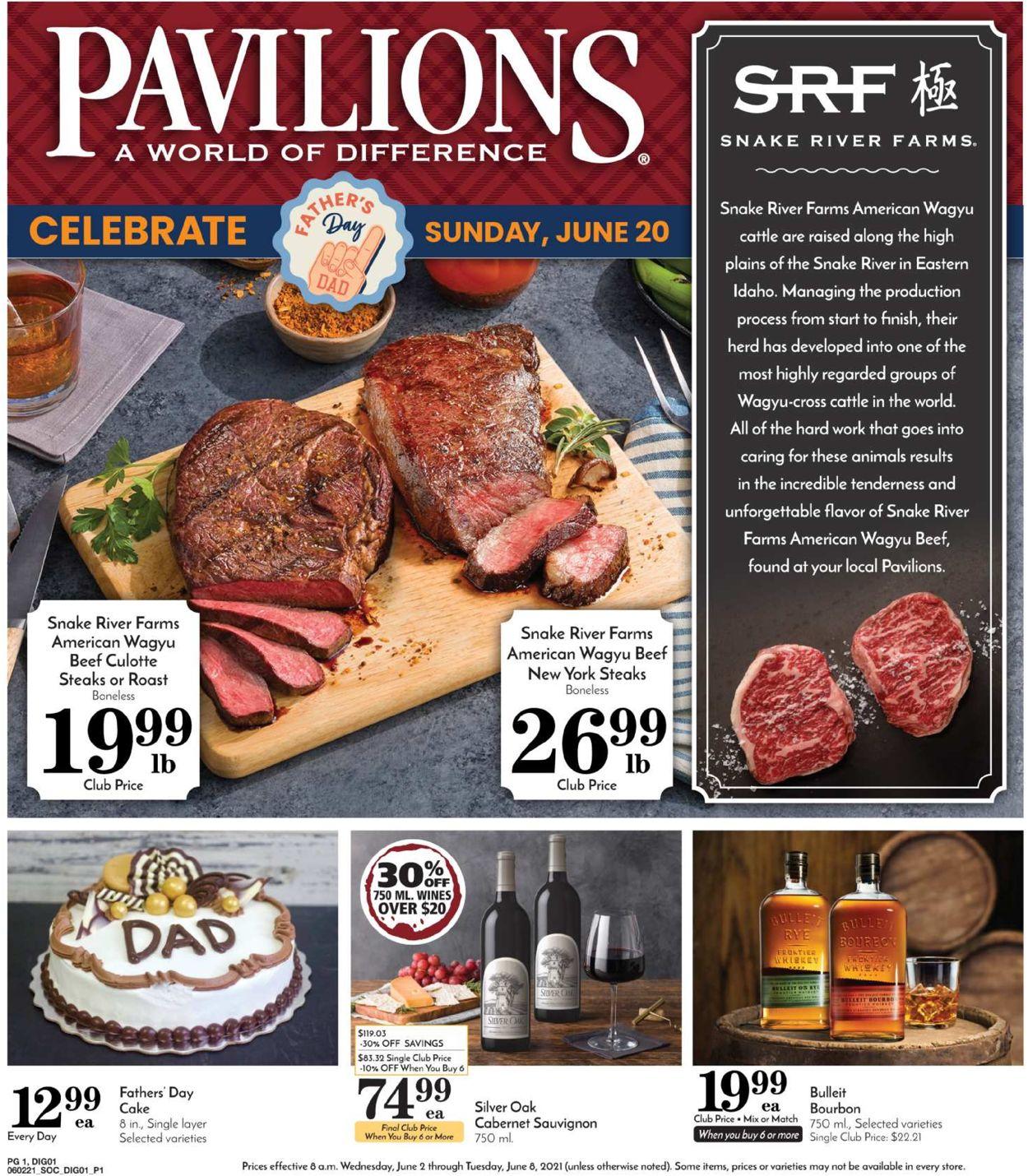 Pavilions Weekly Ad Circular - valid 06/02-06/08/2021