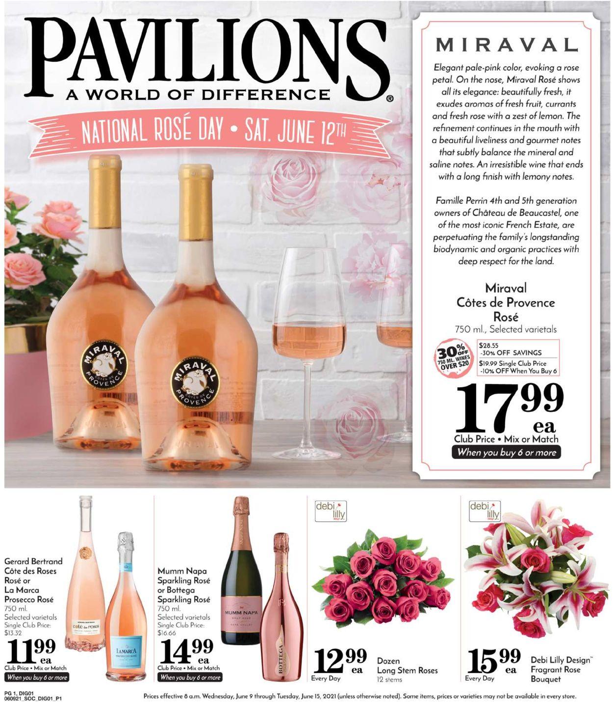 Pavilions Weekly Ad Circular - valid 06/09-06/15/2021