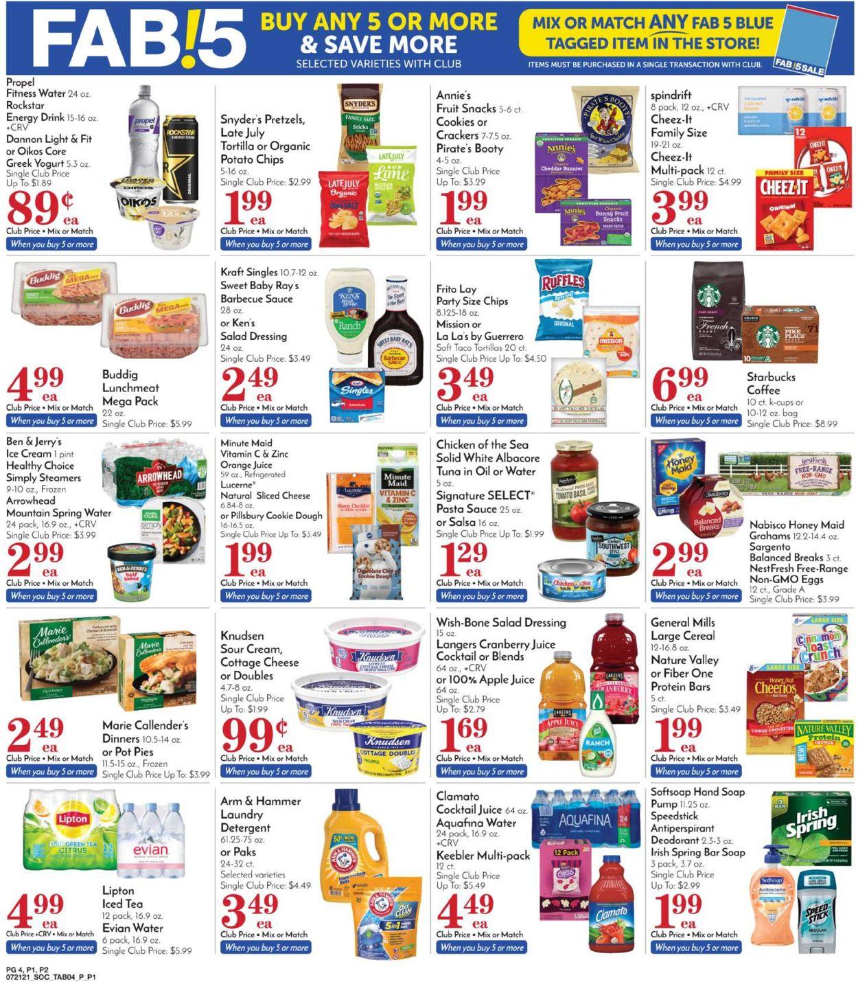 Pavilions Weekly Ad Circular - valid 07/21-07/27/2021 (Page 6)