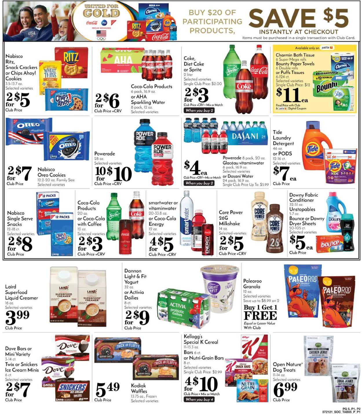 Pavilions Weekly Ad Circular - valid 07/21-07/27/2021 (Page 7)