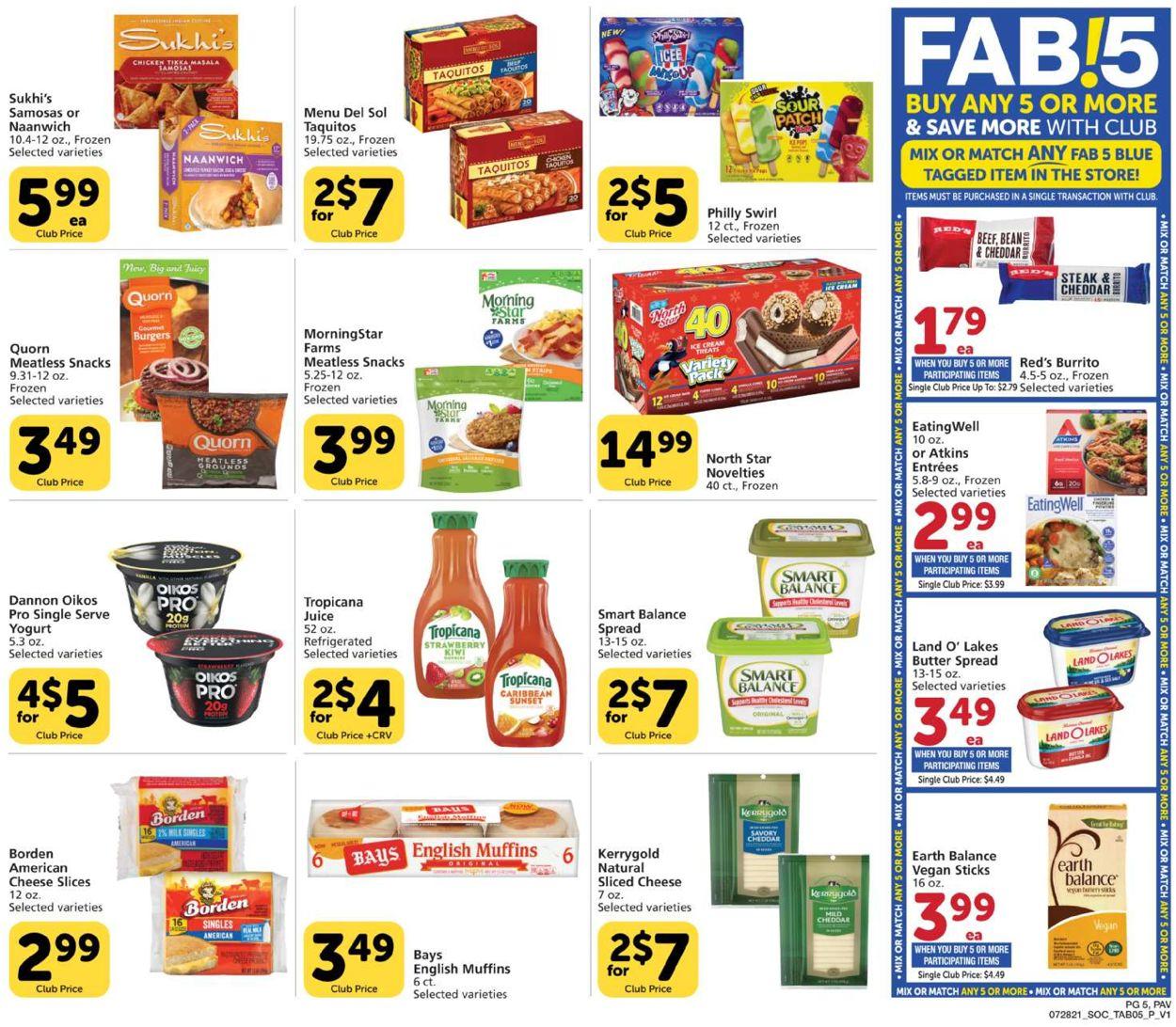 Pavilions Weekly Ad Circular - valid 07/28-08/24/2021 (Page 5)