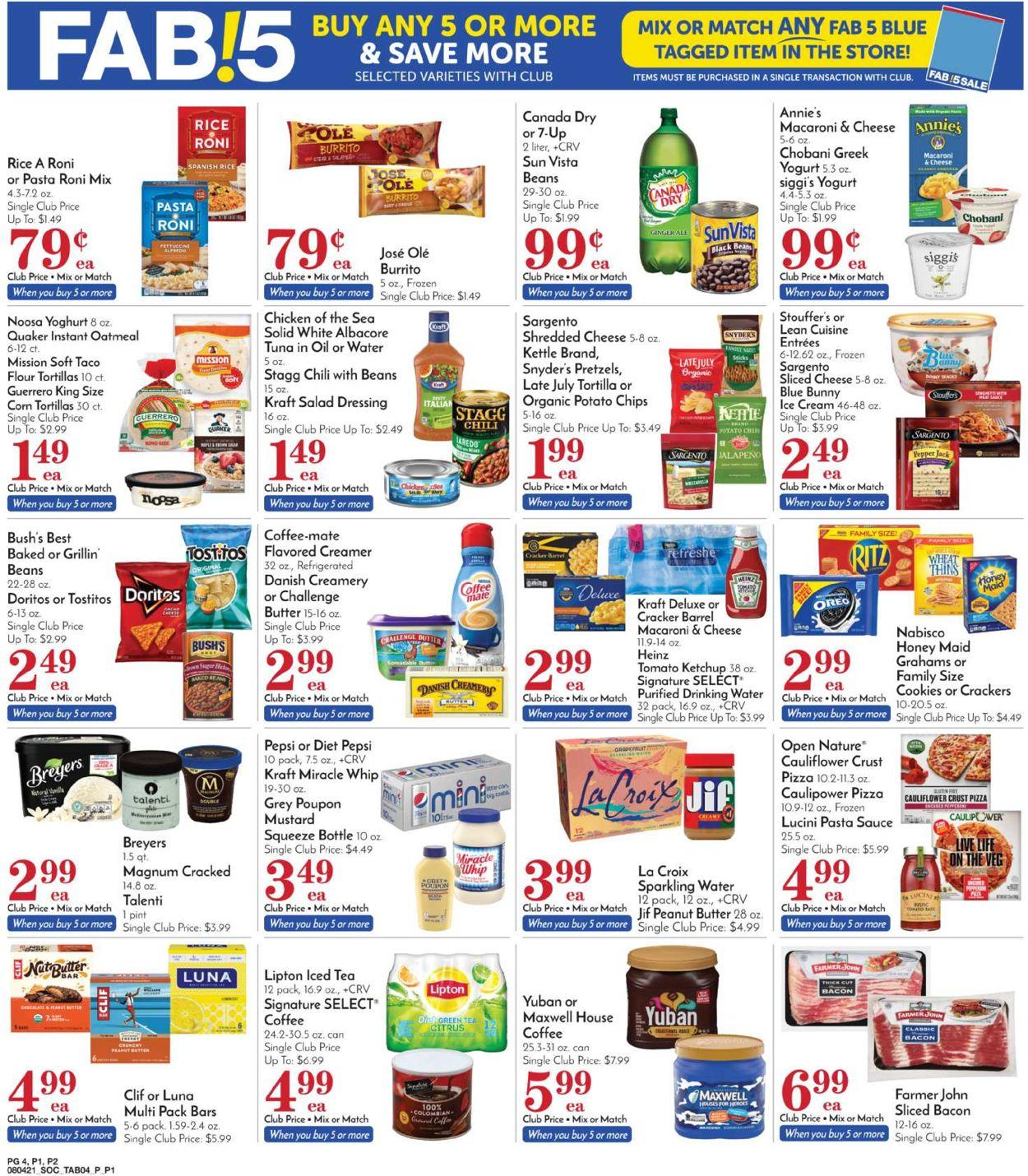 Pavilions Weekly Ad Circular - valid 08/04-08/10/2021 (Page 4)