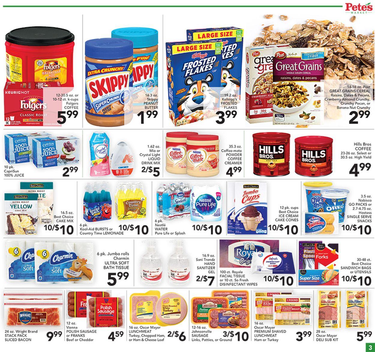 Pete's Fresh Market Weekly Ad Circular - valid 07/21-07/27/2021 (Page 3)