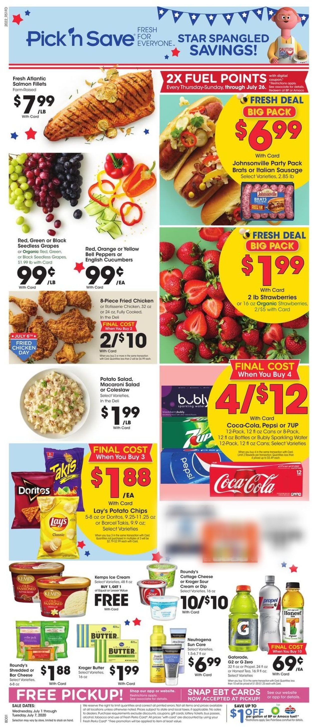 Pick 'n Save Weekly Ad Circular - valid 07/01-07/07/2020
