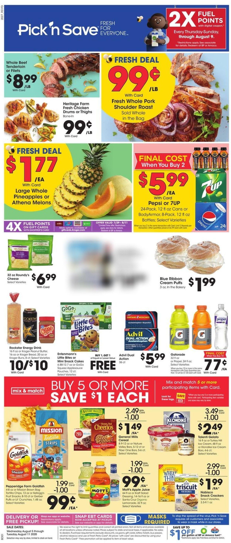 Pick 'n Save Weekly Ad Circular - valid 08/05-08/11/2020