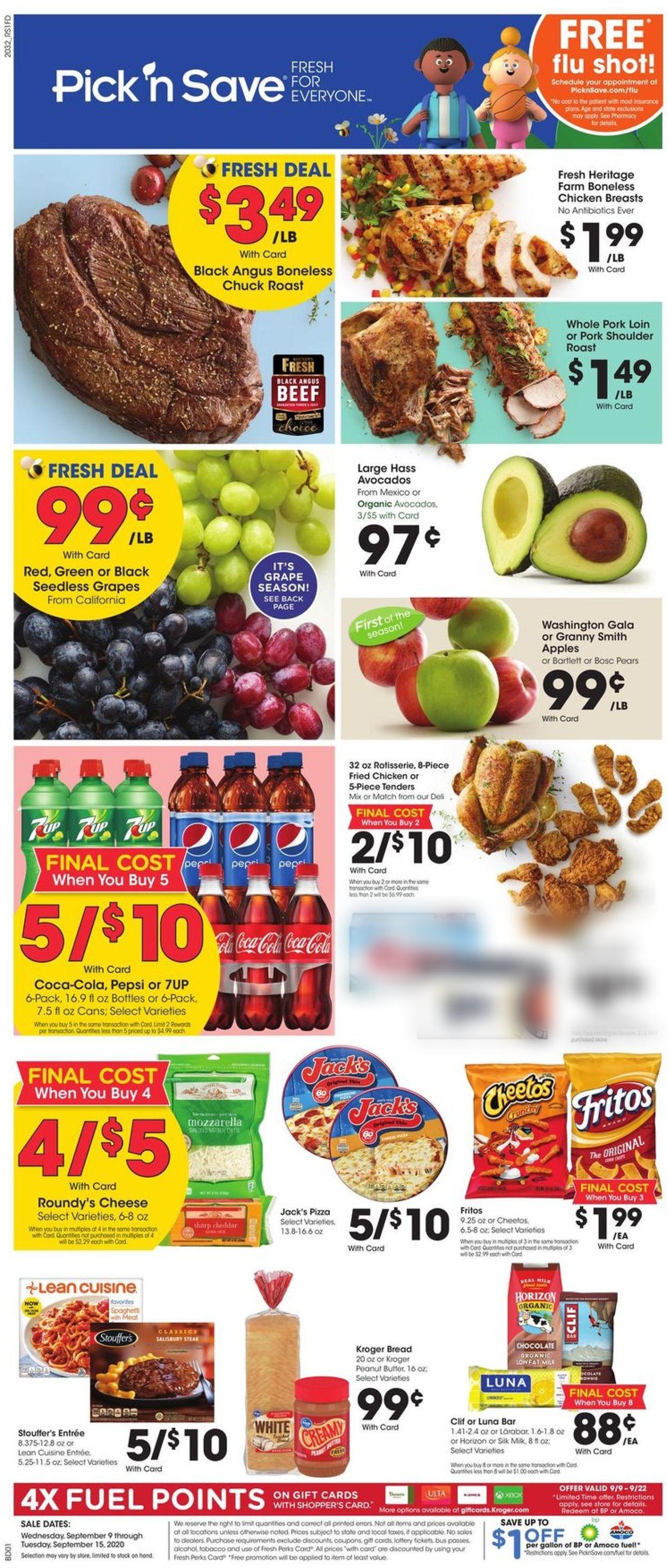 Pick 'n Save Weekly Ad Circular - valid 09/09-09/15/2020