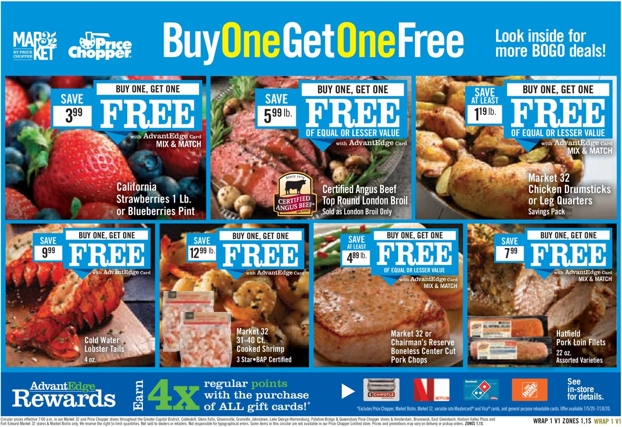 Price Chopper Weekly Ad Circular - valid 07/05-07/11/2020