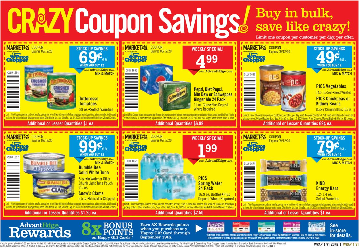 Price Chopper Weekly Ad Circular - valid 09/06-09/19/2020