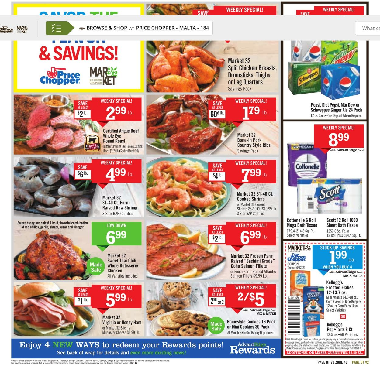 Price Chopper Weekly Ad Circular - valid 06/06-06/12/2021