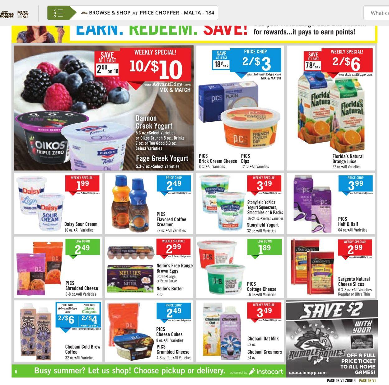 Price Chopper Weekly Ad Circular - valid 07/25-07/31/2021 (Page 6)