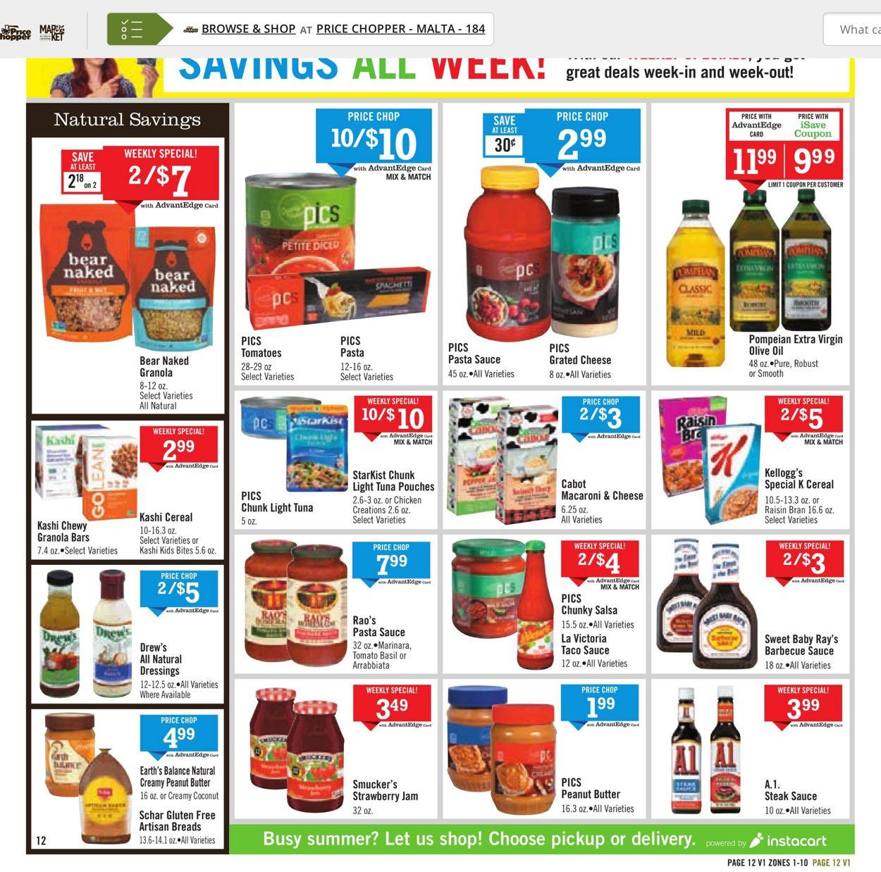 Price Chopper Weekly Ad Circular - valid 07/25-07/31/2021 (Page 12)