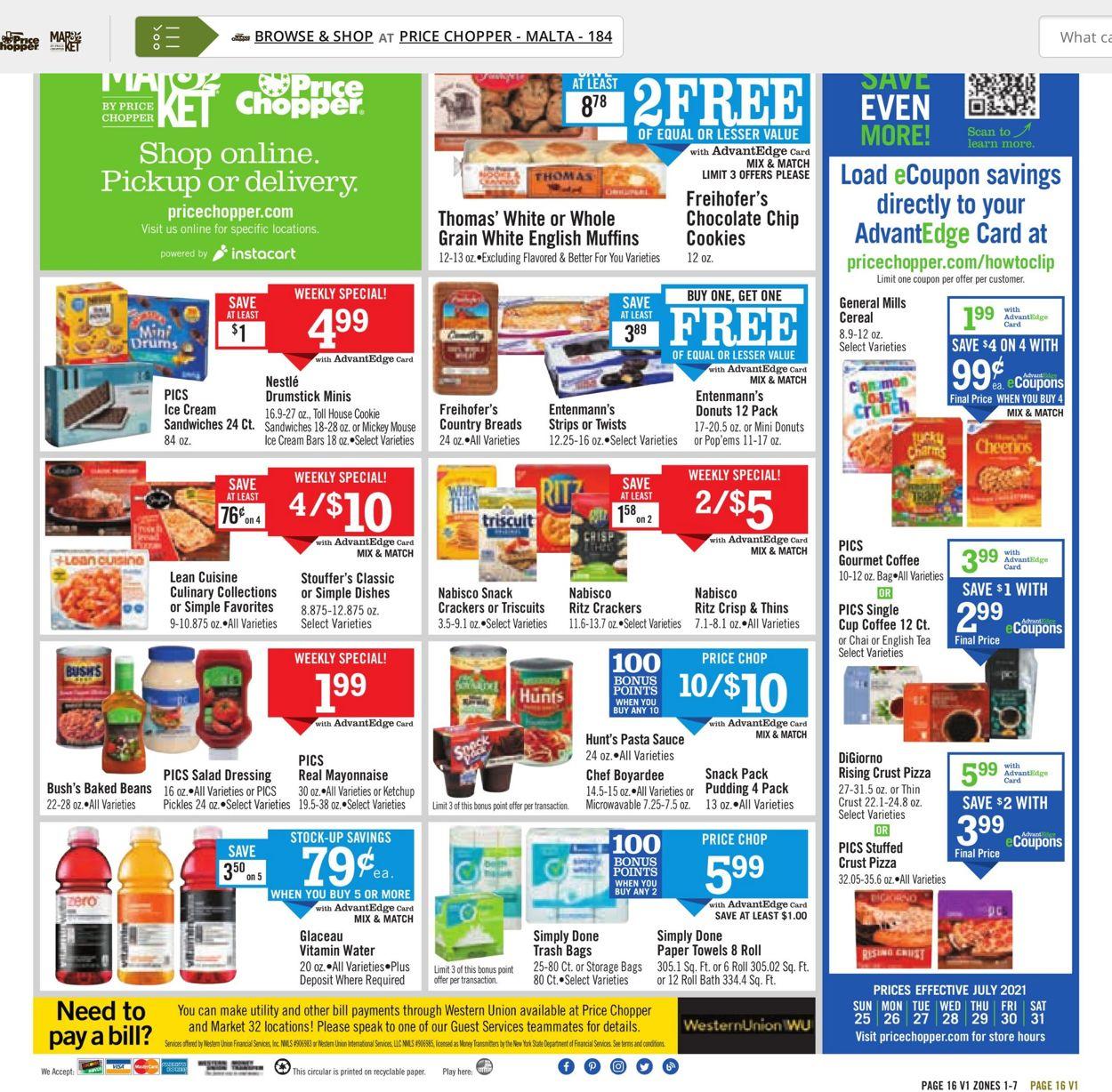 Price Chopper Weekly Ad Circular - valid 07/25-07/31/2021 (Page 16)