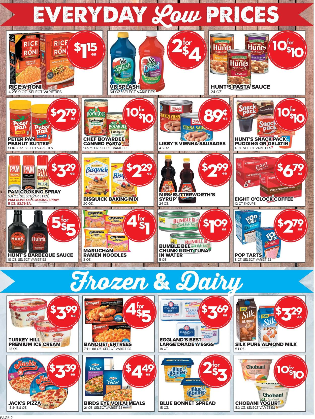 Price Cutter Weekly Ad Circular - valid 07/07-08/03/2021 (Page 2)