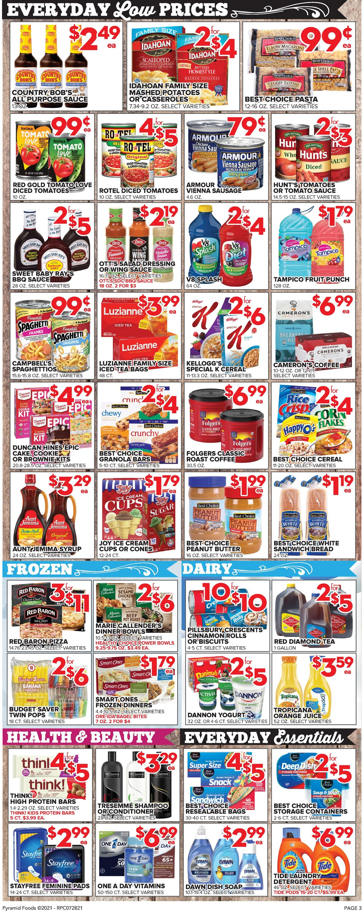 Price Cutter Weekly Ad Circular - valid 07/28-08/03/2021 (Page 3)