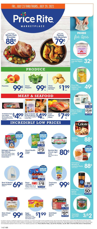 Price Rite Weekly Ad Circular - valid 07/23-07/29/2021