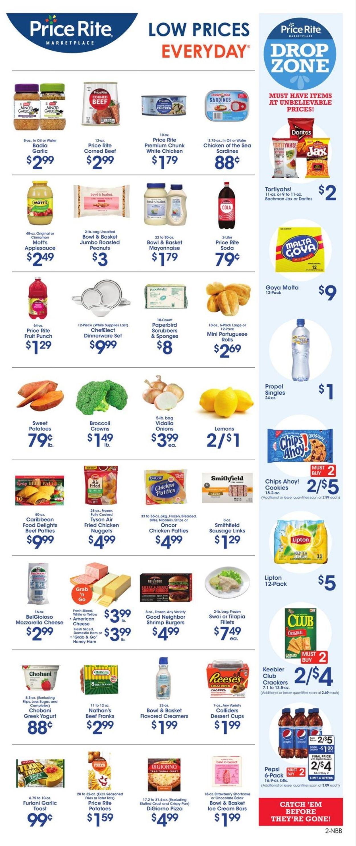Price Rite Weekly Ad Circular - valid 07/23-07/29/2021 (Page 2)
