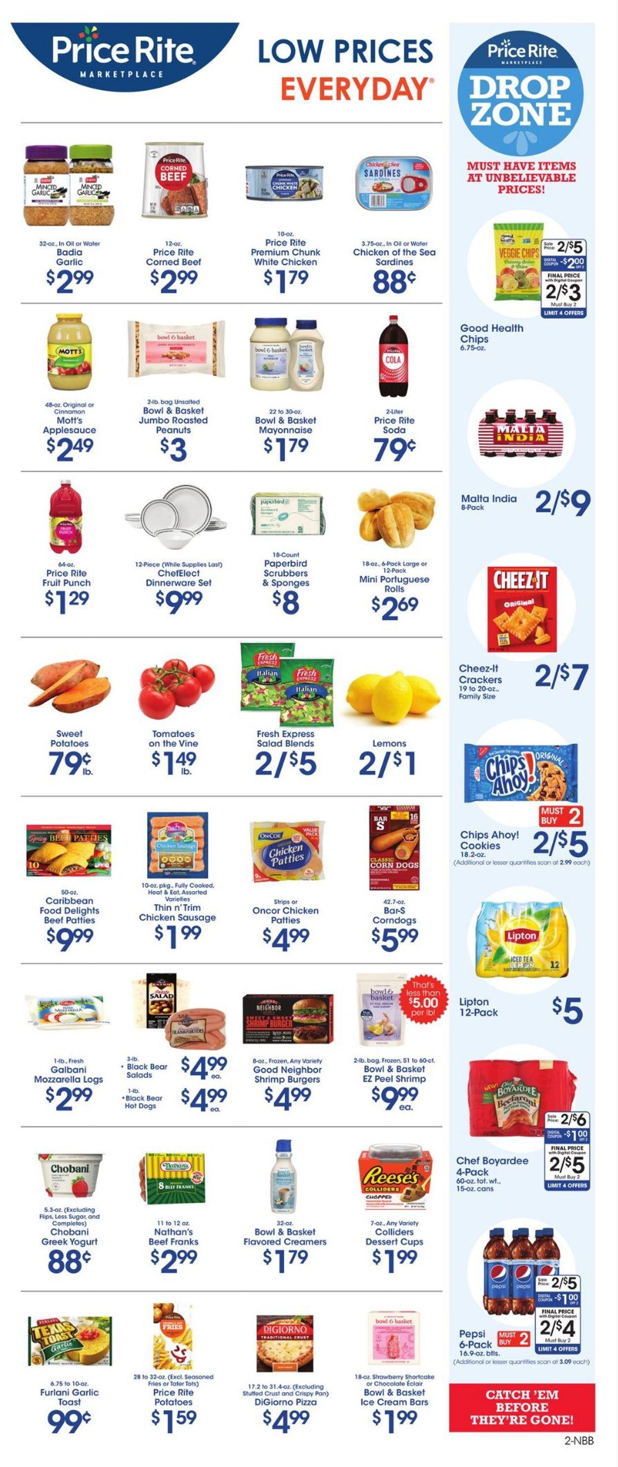 Price Rite Weekly Ad Circular - valid 07/30-08/05/2021 (Page 2)