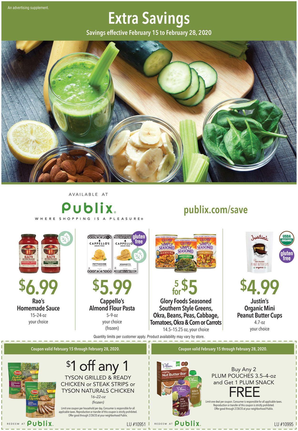 Publix Weekly Ad Circular - valid 02/15-02/28/2020