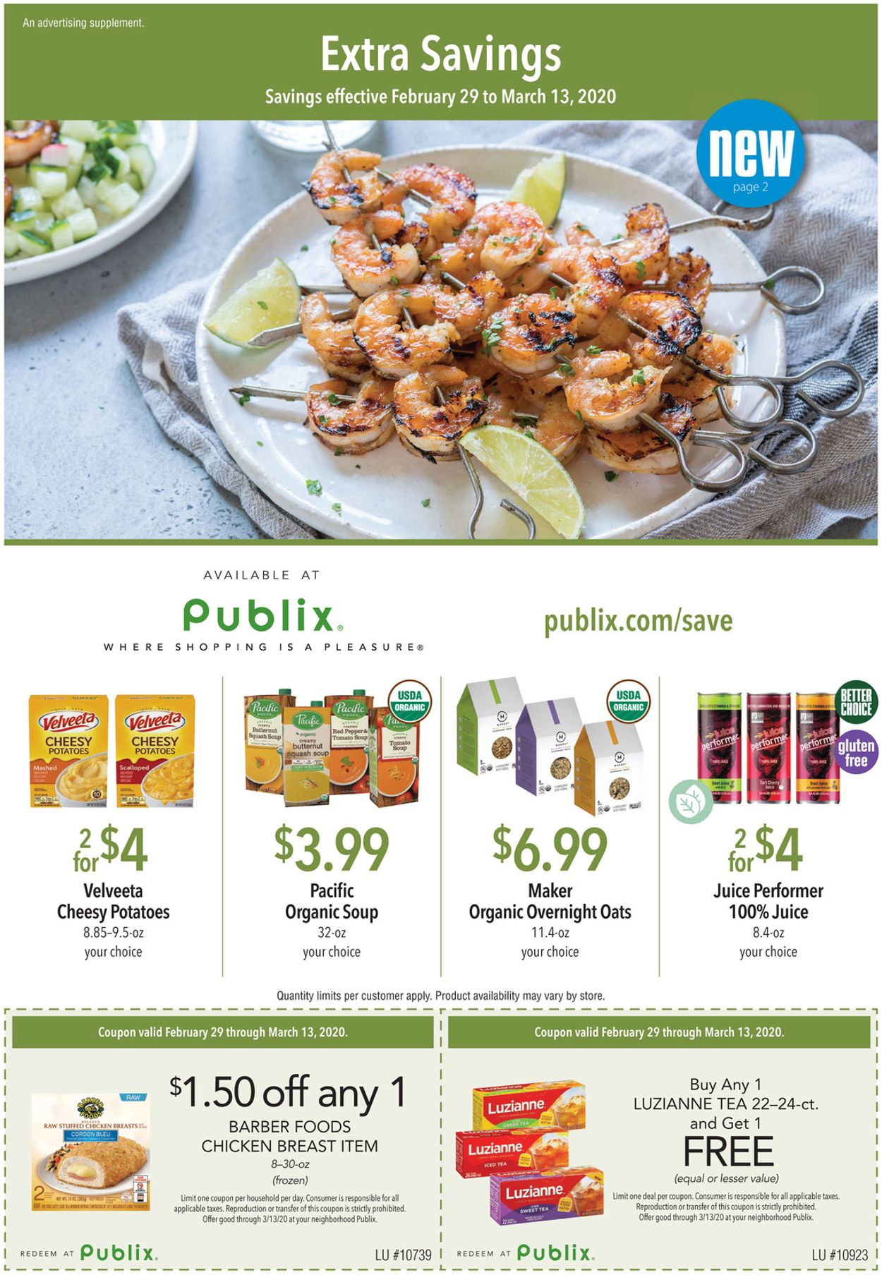 Publix Weekly Ad Circular - valid 02/29-03/13/2020