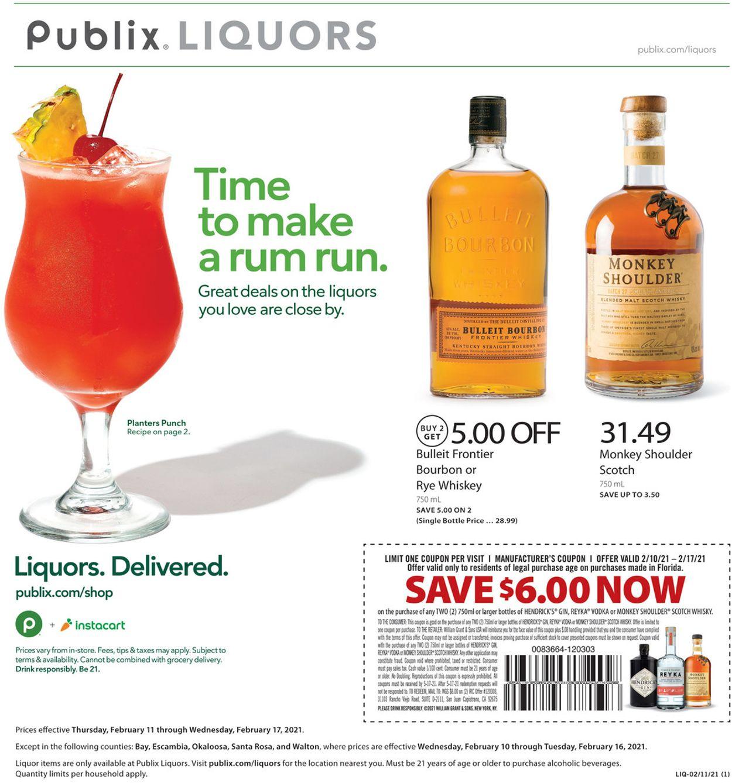 Publix Weekly Ad Circular - valid 02/11-02/17/2021