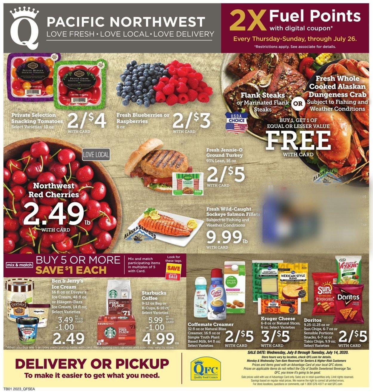 QFC Weekly Ad Circular - valid 07/08-07/14/2020