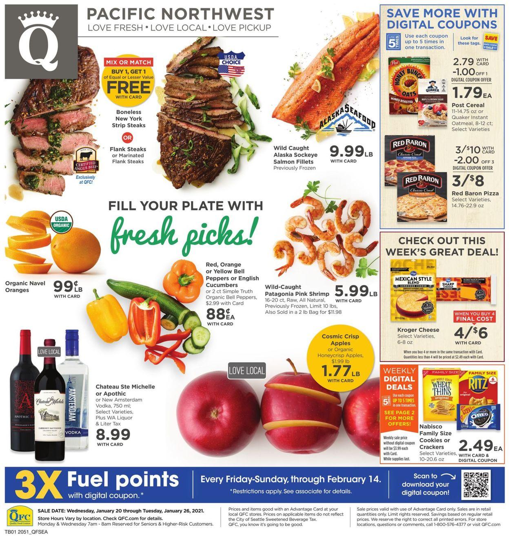 QFC Weekly Ad Circular - valid 01/20-01/26/2021