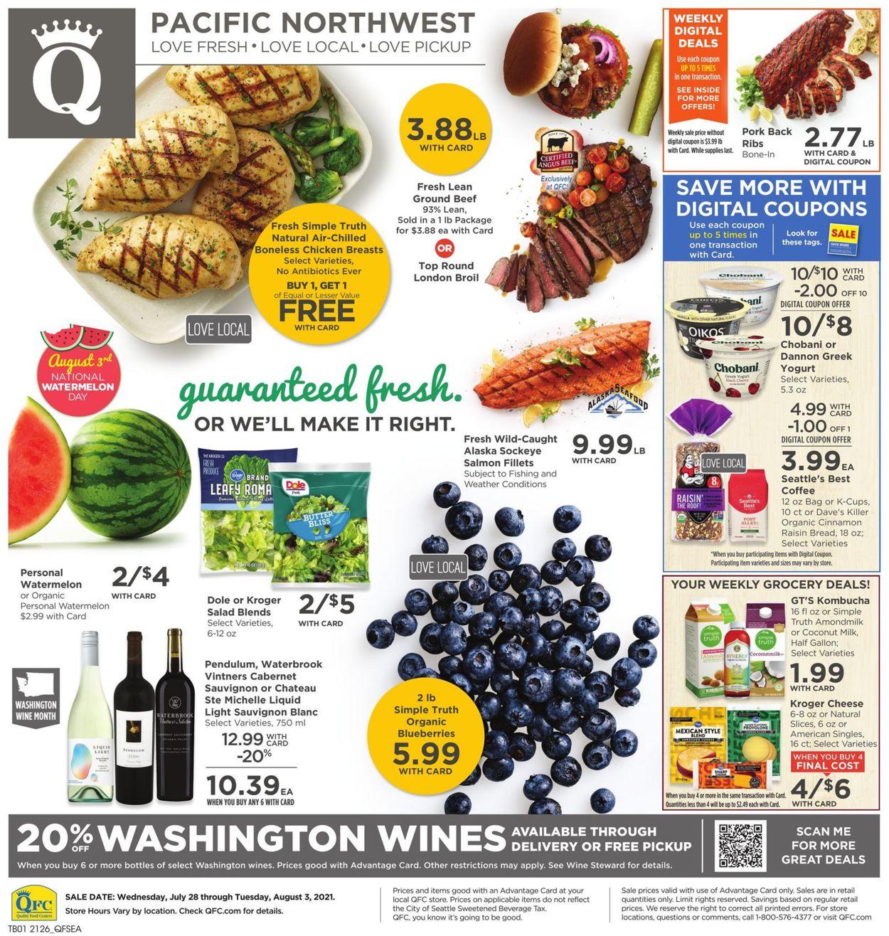 QFC Weekly Ad Circular - valid 07/28-08/03/2021