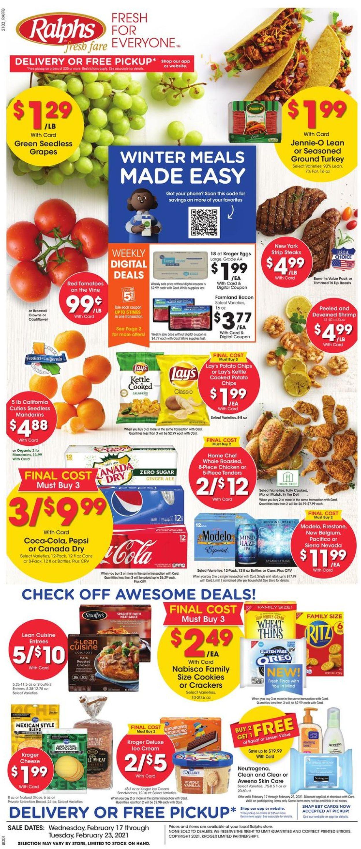 Ralphs Weekly Ad Circular - valid 02/17-02/23/2021