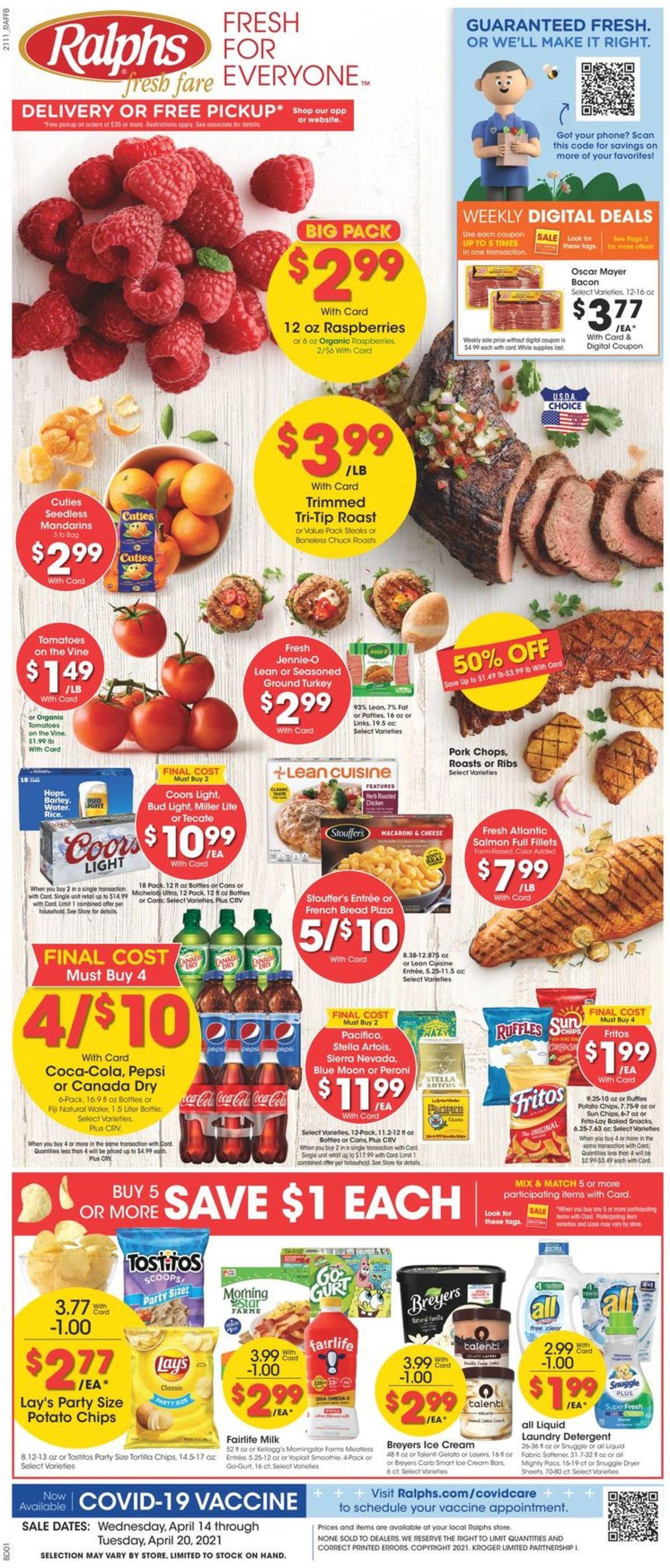 Ralphs Weekly Ad Circular - valid 04/14-04/20/2021