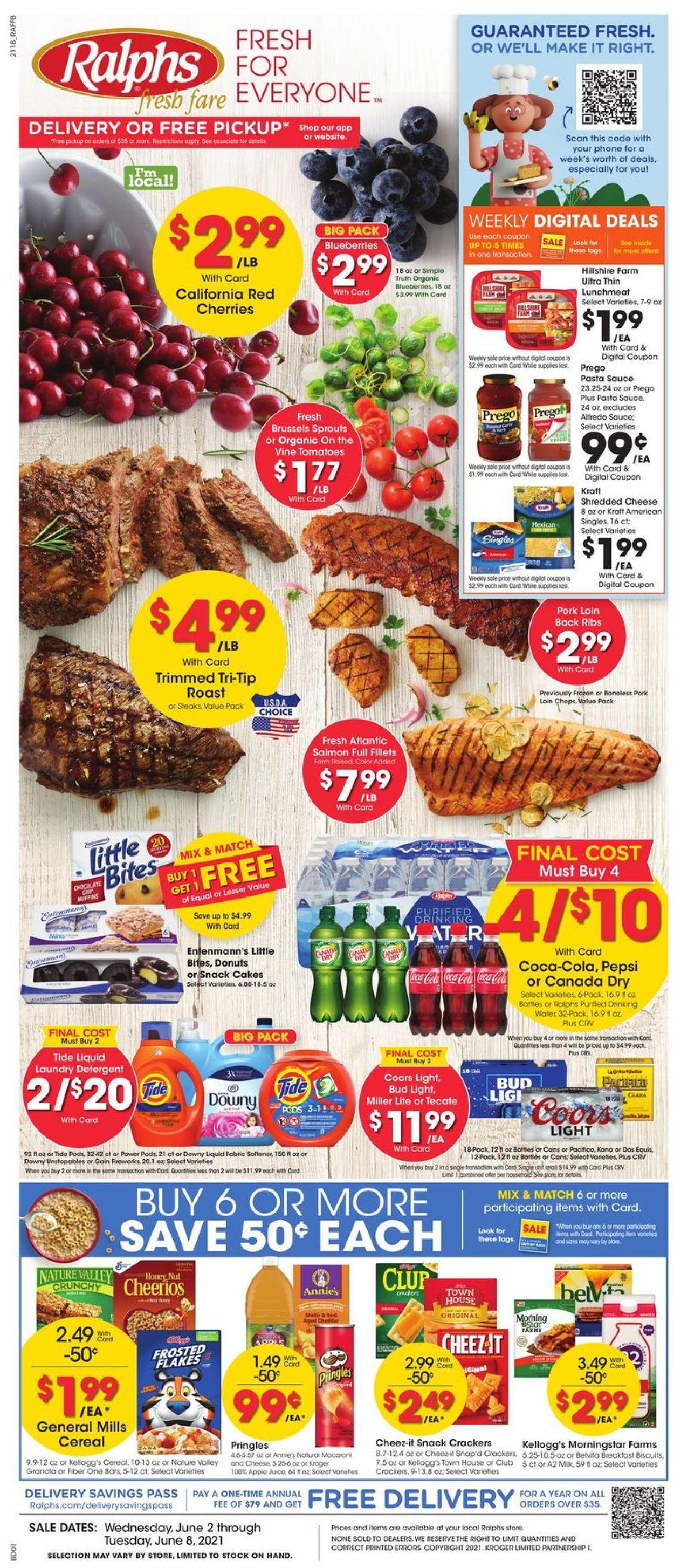 Ralphs Weekly Ad Circular - valid 06/02-06/08/2021