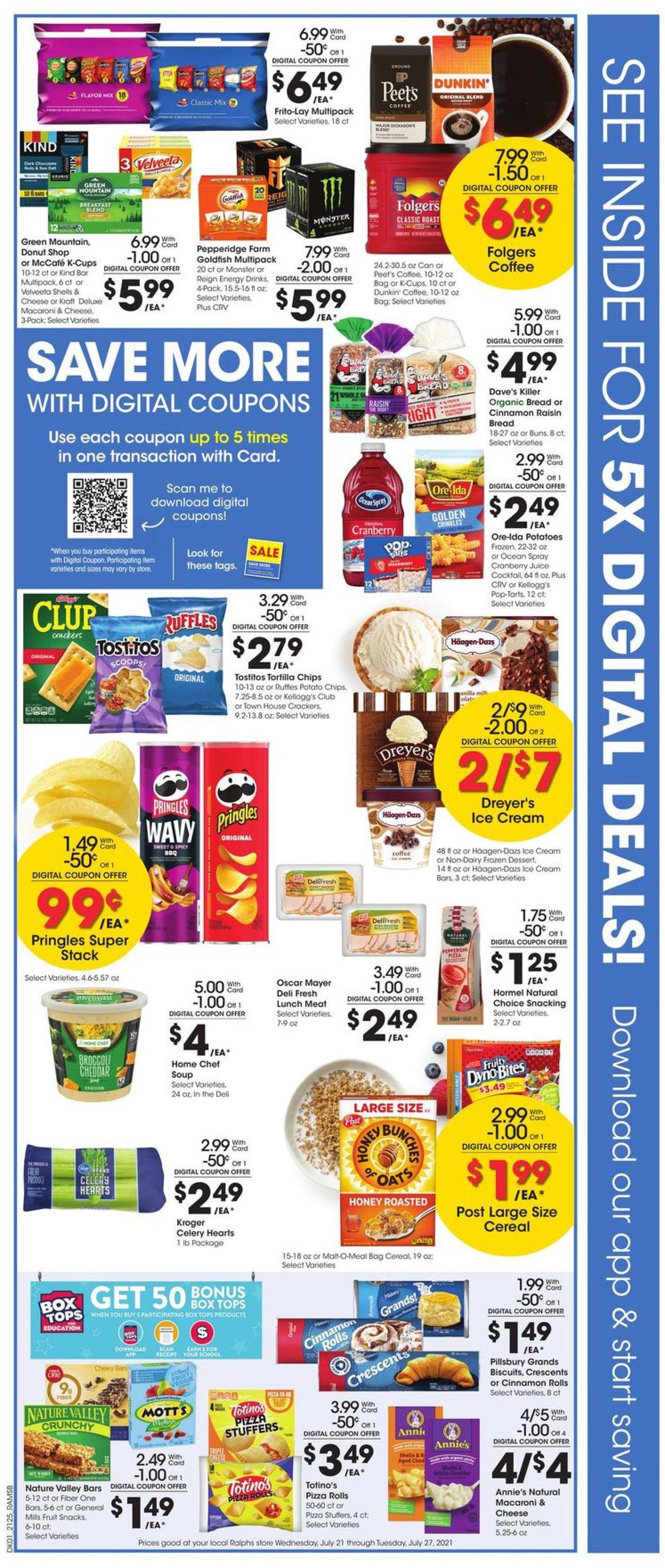 Ralphs Weekly Ad Circular - valid 07/21-07/27/2021 (Page 2)