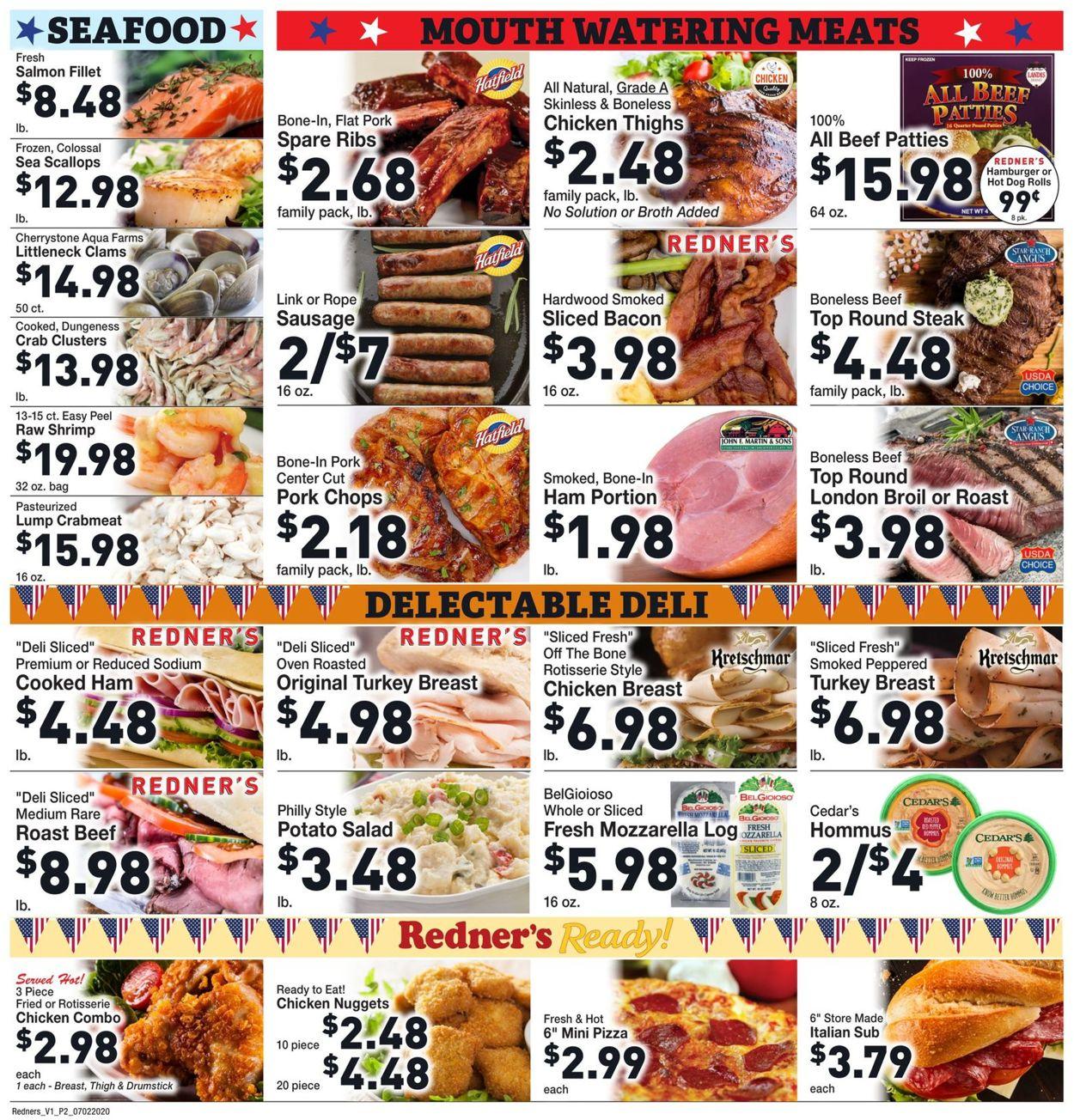 Redner's Warehouse Market Weekly Ad Circular - valid 07/02-07/08/2020 (Page 4)